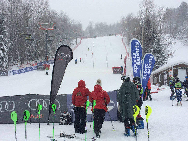 Ski Alpin : La Super Série Sports Experts à Val Saint-Côme