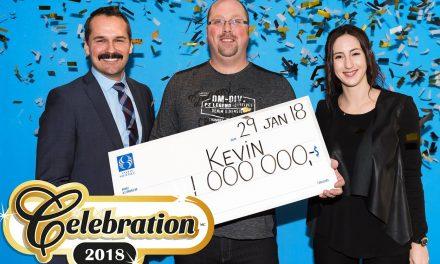 Un résident de Lanaudière remporte un million de dollars avec son billet Célébration2018