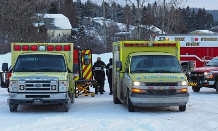 Une motoneige percute un arbre et cause des blessures à deux personnes
