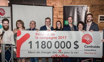 Centraide Lanaudière atteint un nouveau sommet pour changer des vies pour la vie!