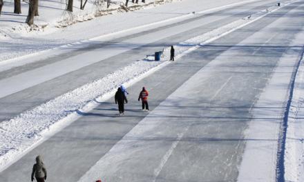 La patinoire de la rivière l'Assomption maintenant ouverte