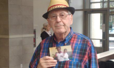 Il devient parrain d'un enfant du Mali à 87 ans