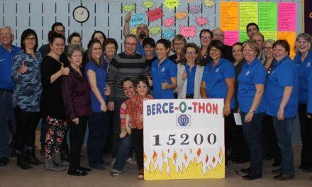 Le Club optimiste de Sainte-Béatrix remet 15 200 $ à la Fondation pour la Santé grâce à la 16e édition de son Berce-O-Thon!