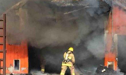 Incendie d'un garage commercial à Notre-Dame-de-Lourdes