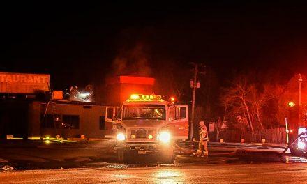 Le restaurant Le Survenant endommagé par un incendie