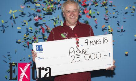 25 000 $: L'Extra fait un heureux dans Lanaudière