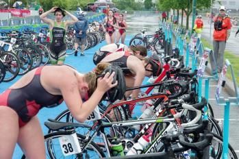 Un camp estival en triathlon à Joliette