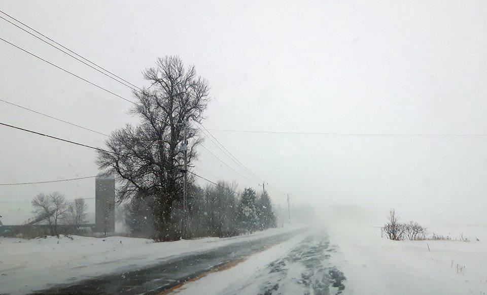 Tempête de neige: 34 cm sur Joliette