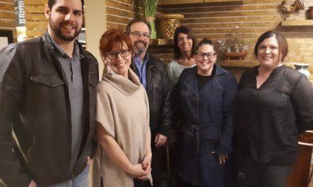 Les membres de l'Association libérale de Joliette en pleine action!