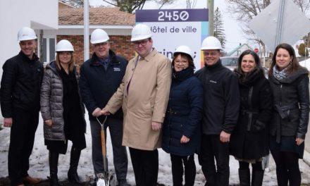 Programme d'infrastructures Québec-Municipalités – Le gouvernement du Québec octroie plus de 2,5 M$ pour des travaux à l'hôtel de ville de Sainte-Julienne