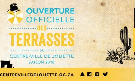 Ouverture officielle des terrasses au centre-ville de Joliette – une 3e édition qui promet !