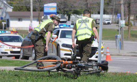 Cycliste grièvement blessé à Sainte-Julienne