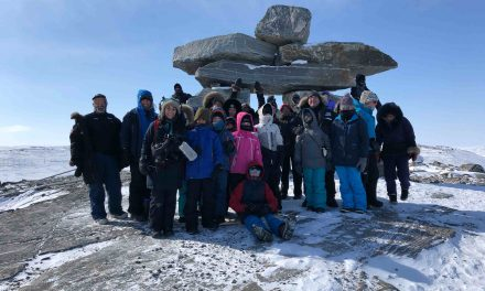 Échange culturel entre les élèves de l'école de Saint-Didace et de Salluït