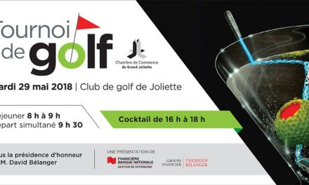 La CCGJ accueille les joueurs de golf le 29 mai prochain!