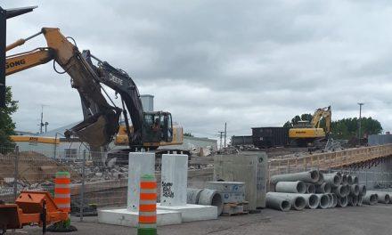 Le viaduc du boulevard Sainte-Anne : les travaux de démolition vont bon train