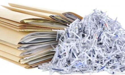 Chaque chose à sa place :  Vos données personnelles, dans la déchiqueteuse!