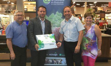 La Chambre de commerce remet trois Trousses de bienvenue à Saint-Lin-Laurentides