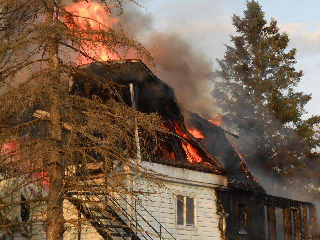Incendie majeur à Saint-Paul