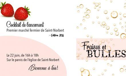 De belles nouveautés au marché fermier de Saint-Norbert