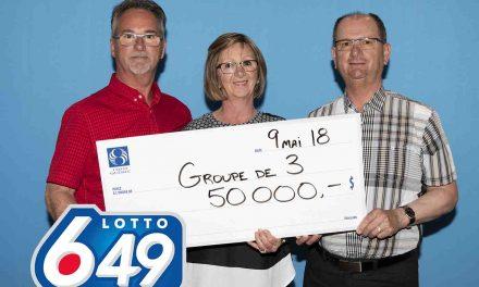 Lotto 6/49 : un pressentiment payant pour une famille de Lanaudière