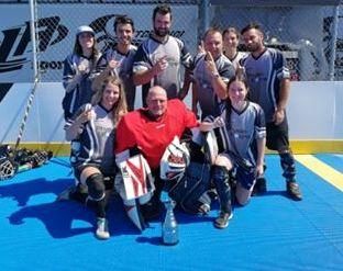 Un succès pour la deuxième édition du Tournoi Dek Hockey de la Chambre de commerce.