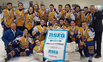 Une très bonne année pour le hockey scolaire à Barthélemy-Joliette