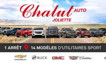 Une vaste gamme de véhicules chez A. Chalut auto ltee