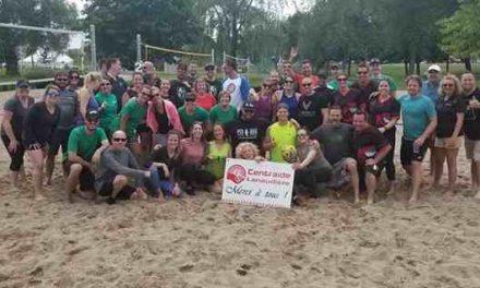 Un immense succès pour le troisième Tournoi de volleyball au profit de Centraide Lanaudière!