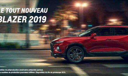 Deux remarquables nouveautés chez Chalut auto en 2019!