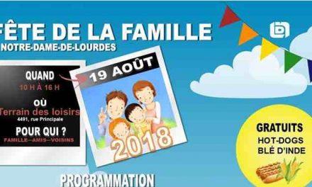 Fête de la famille à Notre-Dame-de-Lourdes