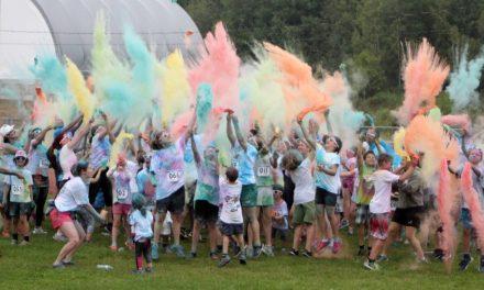 Le Maski-Couleurs, une course colorée pour les petits et grands!