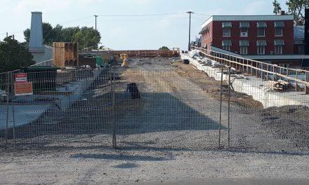 La reconstruction du viaduc du boulevard Sainte-Anne va bon train