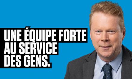 Lancement de campagne d'André Villeneuve