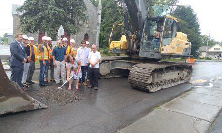 Début des travaux pour installer le réseau d'aqueduc à Saint-Liguori