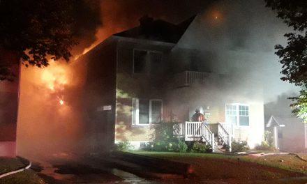 Incendie d'un triplex à Joliette