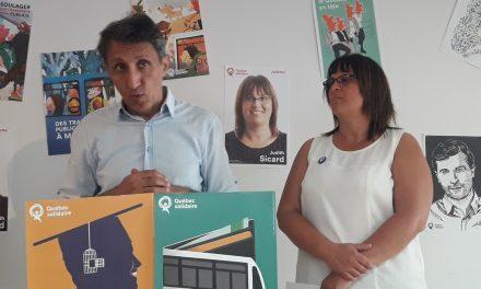 Québec Solidaire propose des solutions audacieuses