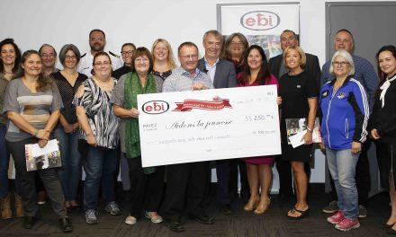 Omnium de golf EBI – Aidons la jeunesse : 55250 $ de bonheur et d'espoir distribués à la jeunesse de Berthier