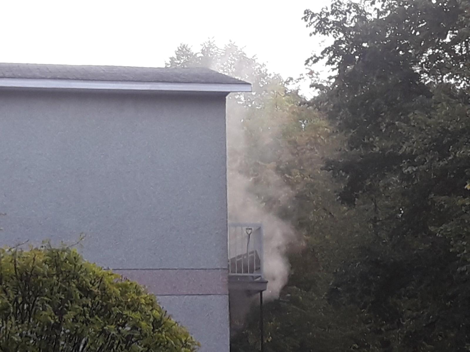 incendie suspect, Joliette, rue Archambault