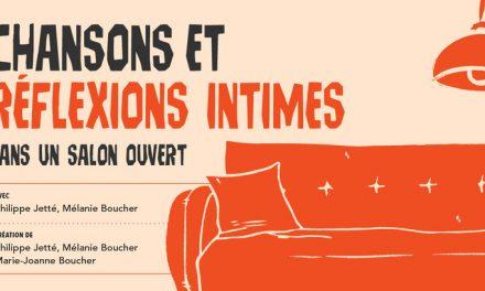 Première de « Chansons et réflexions intimes » au Musée d'art de Joliette