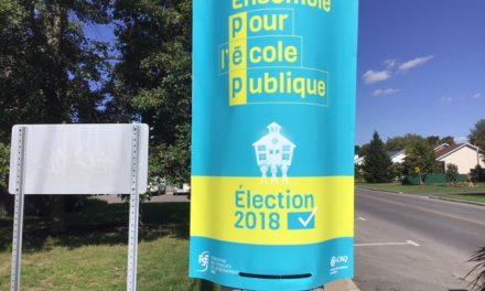 Campagne électorale 2018 : les profs du Syndicat de l'enseignement du lanaudière actifs et engagés pour l'éducation publique