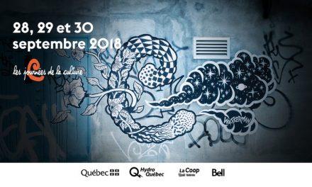 Les Journées de la culture s'invitent à Saint-Alphonse-Rodriguez