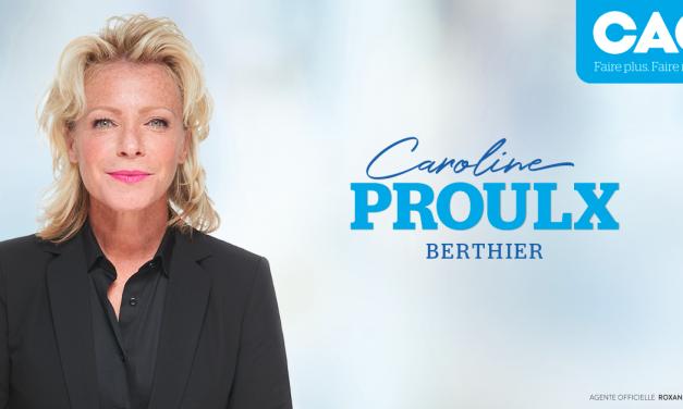 Tourisme Lanaudière félicite la nouvelle députée de Berthier et nouvelle ministre du Tourisme, Mme Caroline Proulx
