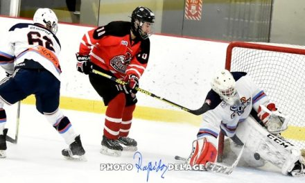 Week-end infructueux pour les Cyclones Junior AA