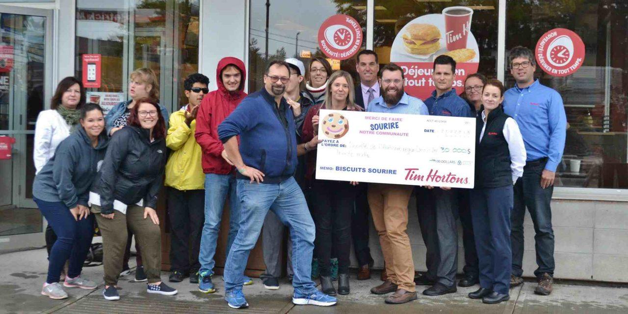 Campagne des biscuits sourire : 30 000$ pour la Société de l'Autisme Région Lanaudière
