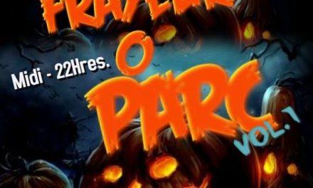 Venez fêter l'Halloween à Frayeur O Parc