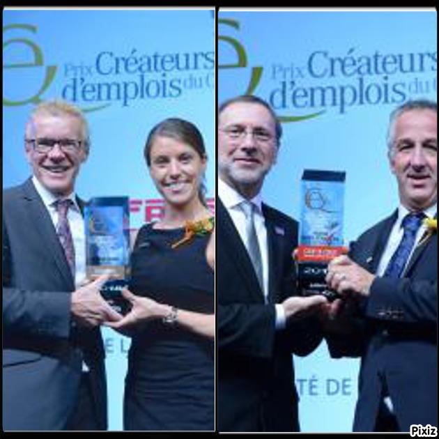 Prix Créateurs d'emplois du Québec : deux prix pour des entreprises lanaudoises