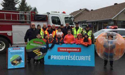 Une semaine, dix municipalités, plus de 2 000 automobilistes de sensibilisés