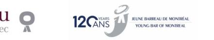 Clinique juridique téléphonique à travers la province Le Jeune Barreau de Montréal (JBM) offre des conseils légaux sans frais