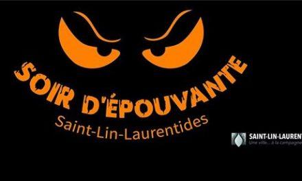 Le 31 octobre, ce sera soir d'épouvante à Saint-Lin-Laurentides
