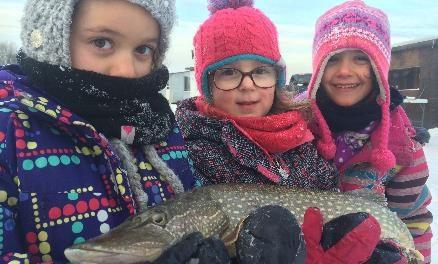 Les ateliers éducatifs et les cliniques de pêche blanche de l'Académie de pêche du lac Saint-Pierre sont offerts pour une cinquième année consécutive
